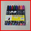 Promotion white board marker pens 8 colors for children