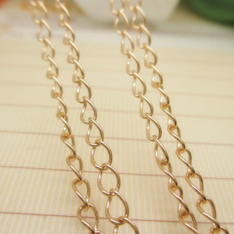 Twisty Dubai New Gold Chain Design Girls Jewelry Safety Chains - Buy ...
