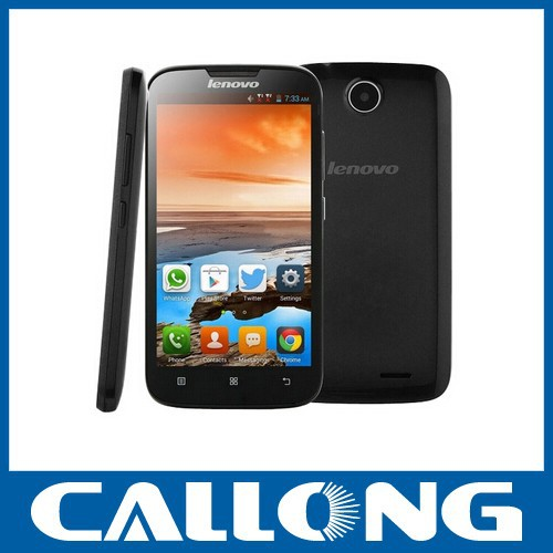 wholesale original Lenovo A560 A5 mobile phones 5.0 inch Quad Core dual sim cellphone 3G Android 4.3 Smart Phone wifi GPS