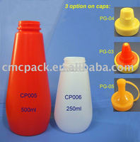 kitchen tool plastic sauce ketchup condiment squeeze bottle