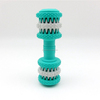 Soft rubber pet accessories dumbbell pet dog chewing toy, dog toy