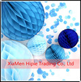 BLUE Paper Honeycomb Ball Lantern Decoration Wedding Party Ball Home Decor