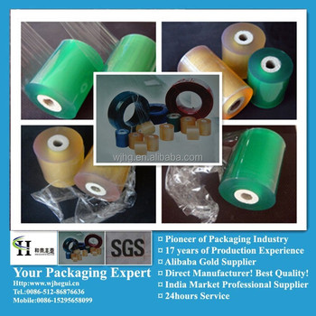 PVC Stretch Transparent cable Film for Packaging Cable/wires