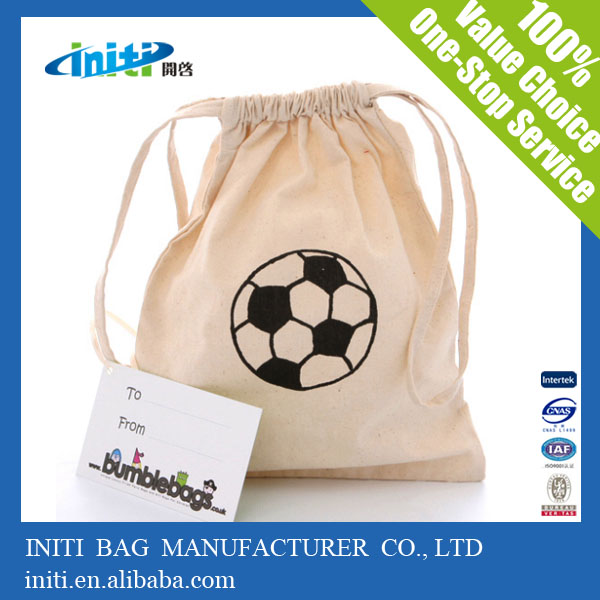 High quality best selling cotton drawstring bags