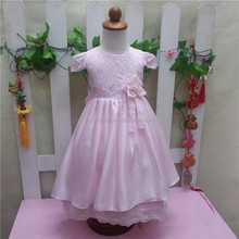 pink dream princess dress for girls real sample wedding lace dress