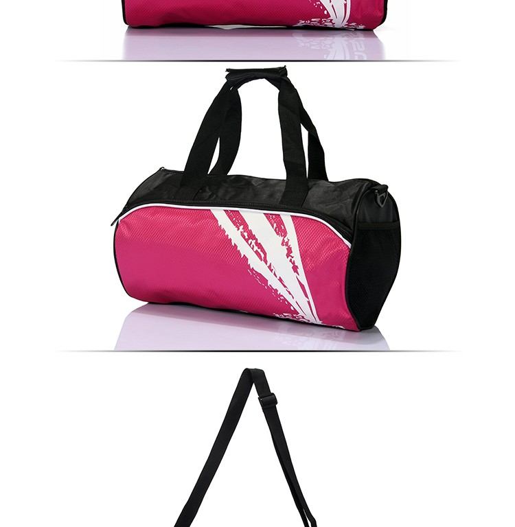 Hot sale women ladies travel bags carry on girl weekend duffel bag custom nylon duffle travel bag