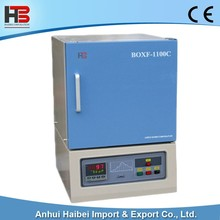 HB-BOXF1100C High Temperature Muffle Furnace Box Furnace with with Programmable Controller Chamber furnaces