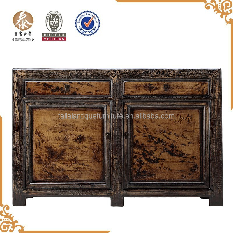 Chinese furniture dining room wooden sideboard