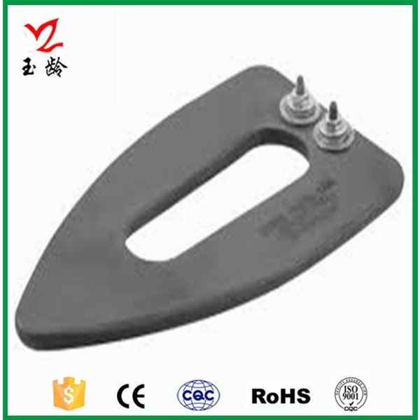 Support for non-standard custom/aluminium die casting heating element of electric iron