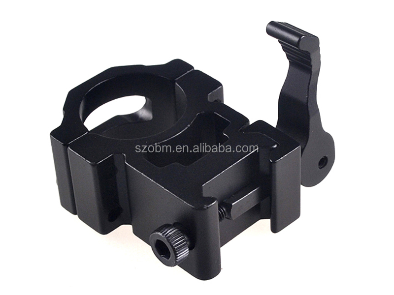 25mm Ring Hunting Tactical Quick Release Laser Sight Gun Picatinny Rail Scope Mount