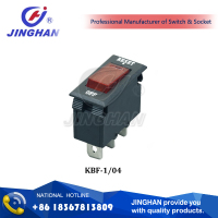 JINGHAN KBF-104 Black/White DC Circuit Breaker,Circuit Breaker Switch,Circuit Breaker