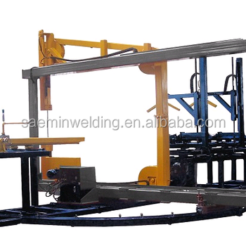 SKC-MA1200B PE PP PVDF plastic pipe multi angle band saw machine for PP PE PVDF