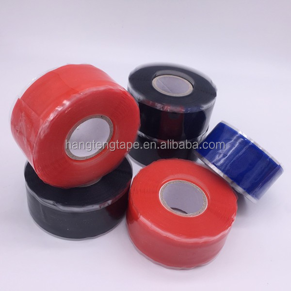 Red Color Multi-function High Voltage Wire Wrap Hose Repair Insulation Tape