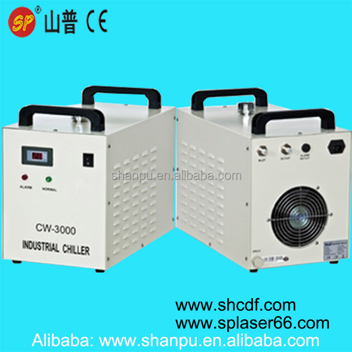 Co2 laser water chiller CW-3000 to cool SP/RECI/EFR/YONGLI CO2 laser tube 60W 80W