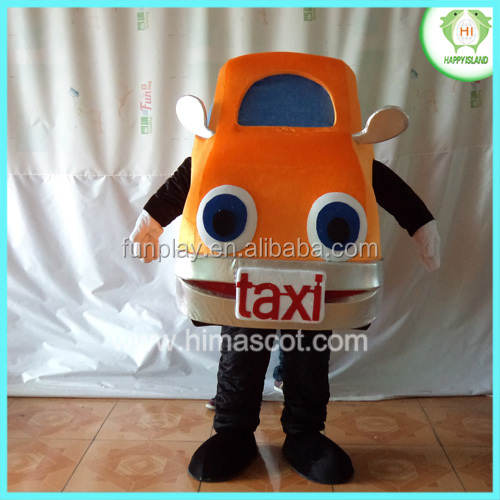 HI CE cartoon character car mascot costume, car costume for sale