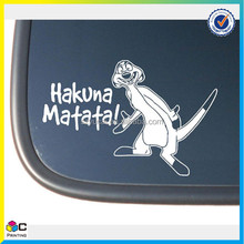 best selling popular sound activated car sticker