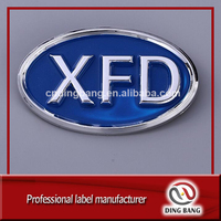High Quality OEM Abs Injection Type And Front Hood Decoration Use Professional 3D Chrome Plastic Custom Enamel Emblem