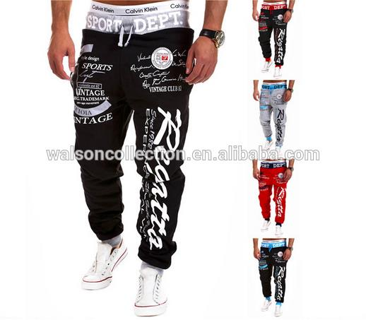 best sale cheap plus size us/uk styles Adjustable waistband men's jogger sweatpants on selling