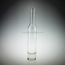 LONG NECKED 750ML EMPTY FANCY GLASS LIQUOR BOTTLES WITH CORK