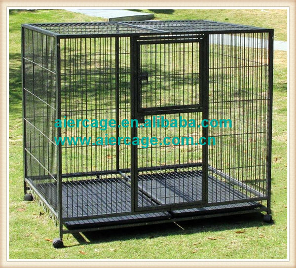 Best prices pet cage square tube kennels and cages for dogs