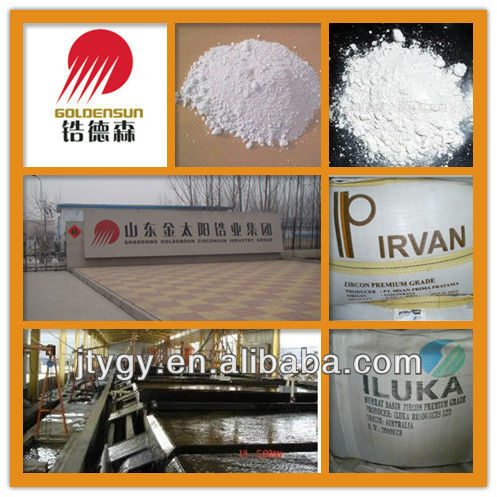 zircon flour for ceramic glaze frit