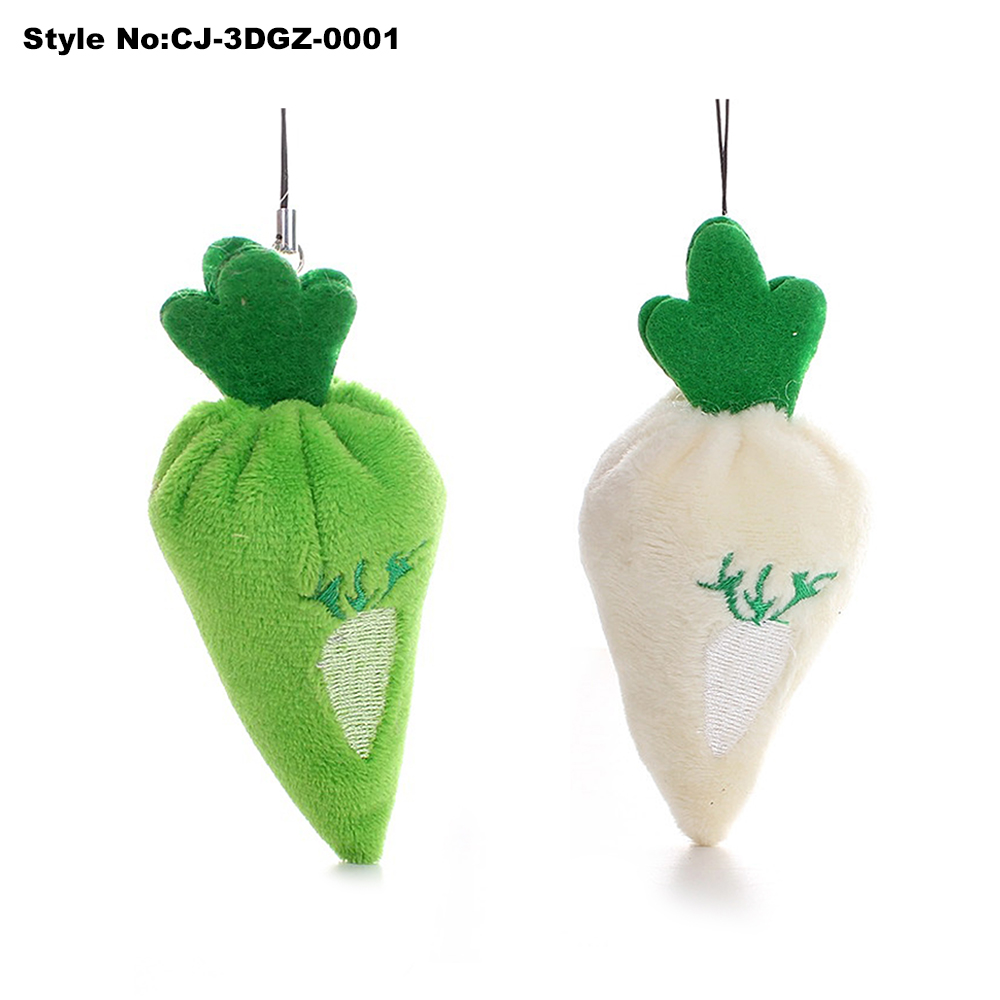 Custom High Quality 3D Turnip Toys for Promotional Gift