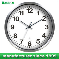 radio clock wholesale in china/ wall mounted clock/ wall clock with big numbers