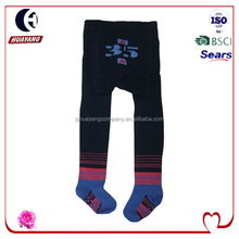 New design knitted winter footed tights pantyhose for baby boys style#HYBD-039