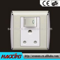 Europe style pull chain light switch