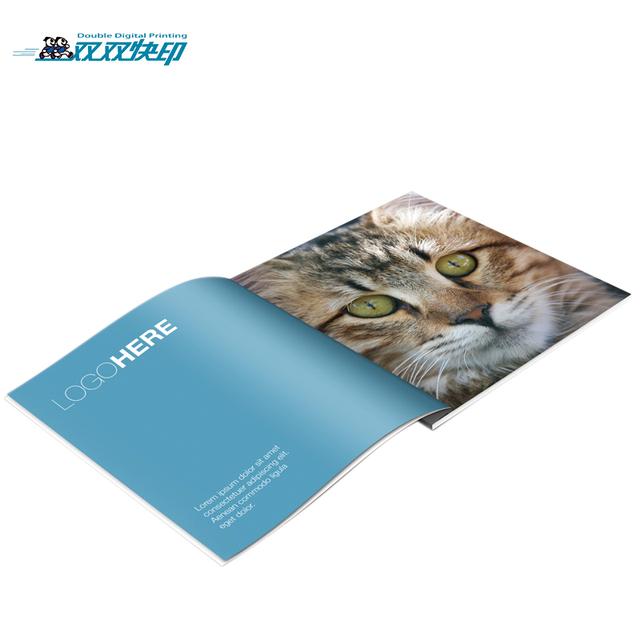 BD001 a4 size garment furniture shoe cosmetic catalogue brochure design