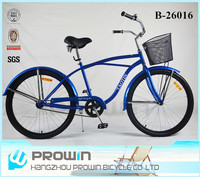26 inch wholesale beach cruiser bike/bicycle parts/bicycles imported from china (PW-B26016)