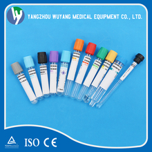 Disposable vacuum blood specimen collection tubes PT tube