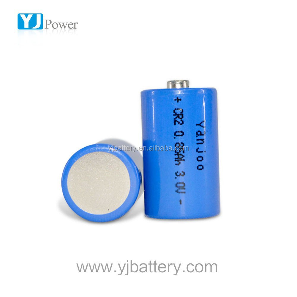r20 size parts dry cell battery 850MAH CR2