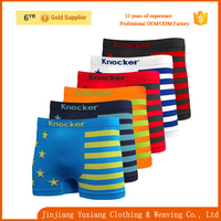 assorted color cotton flag underwear pictures of mens boxer