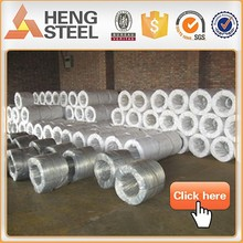 Hot dipped armouring cable galvanized iron wire