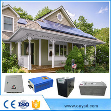 Ouyad solar power 1kw 2kw 3kw 4kw 5kw to 10kw solarpanel system solar power system home