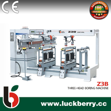 Z3B Wood drilling machine with three heads for cabinet