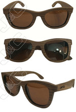 2015 eco-friendly and high quality handcrafted bamboo wood sunglasses with bamboo case and polarized lens