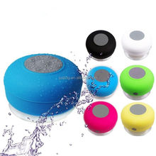 Dustproof Waterproof Shockproof Bluetooth Wireless Speaker Sucker Speaker for mobile cellphone