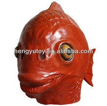 Wholesale Latex Fish Face Mask by Off the Wall Toys