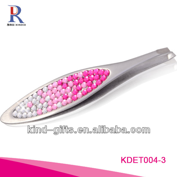 Luxurious Rhinestone Diamond Crystal Needle Nose Tweezers Supplier|Factory|Manufacturer