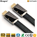 Premium FLAT HDMI Cable v2.0 Gold HDTV UltraHD HD 2160p 4K 3D 6FT 10FT 12FT 20FT