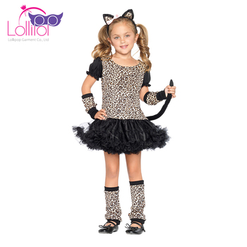 Halloween carnival cosplay girls halloween cat costume