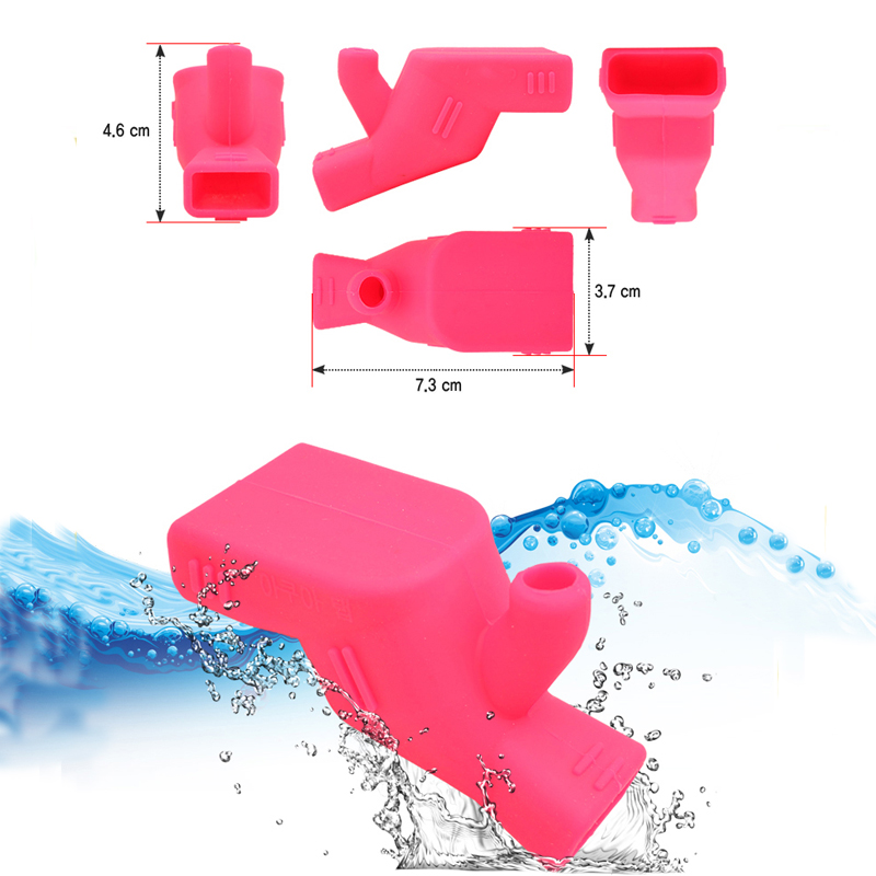 Bath Faucet Extension Spraying Basin Sink Faucet Silicone Water Tap