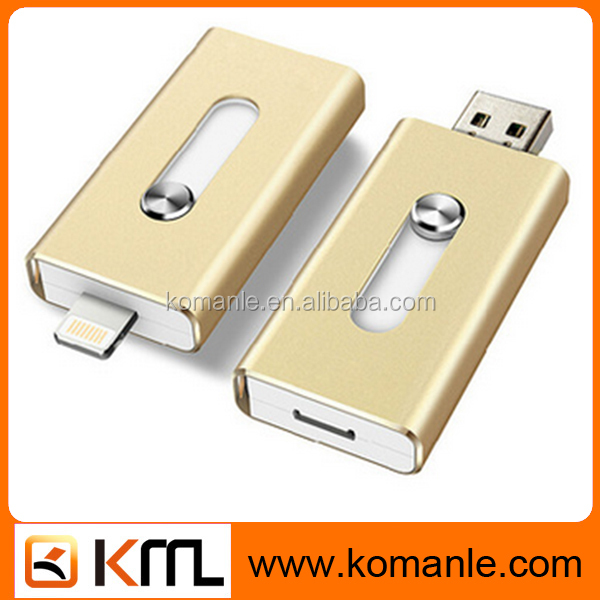 Promotional flash memory usb 3 in 1 android 4.0 usb otg swivel otg usb flash drive memory stick for smart mobile phone