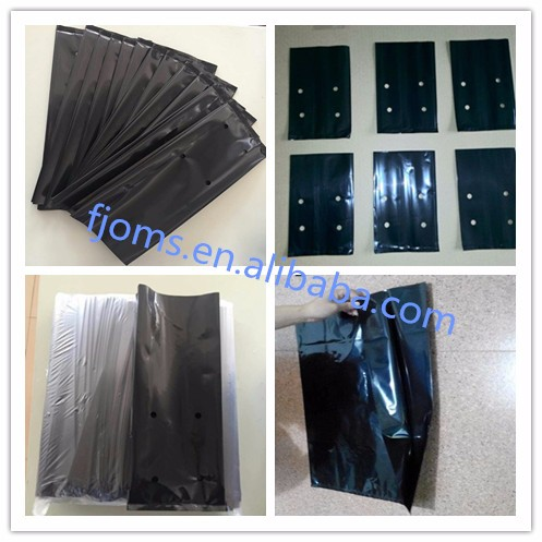 Plastic poly grow bag for nursery and seedling bag
