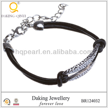 leather bracelet 2013 new product fashion mens jewelry metal jewellery fashion bracelet