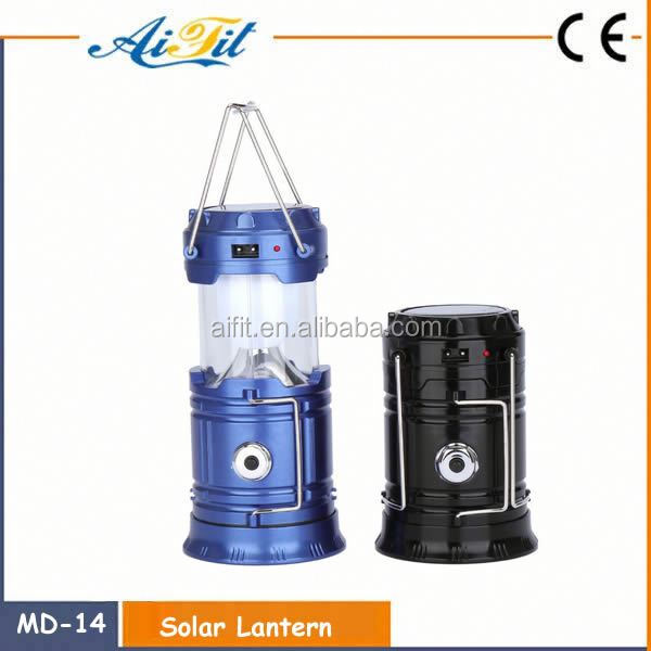 Super Bright Garden Yard Outdoor Indoor Waterproof Powered Energy Rechargeable Camping Light Inflatable Led Solar Lantern