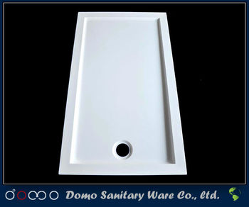 800x1200mm Portable Rectangle Acrylic Shower Tray