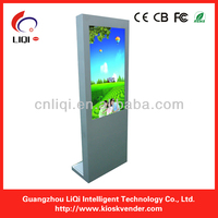 "42"" 46"" full color super thin android internet video kiosk"